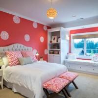 تاثیر رنگ قرمز در اتاق خواب