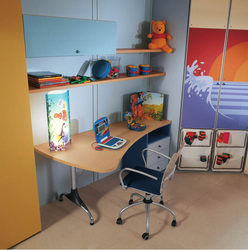 طراحی متفاوت اتاق کودک