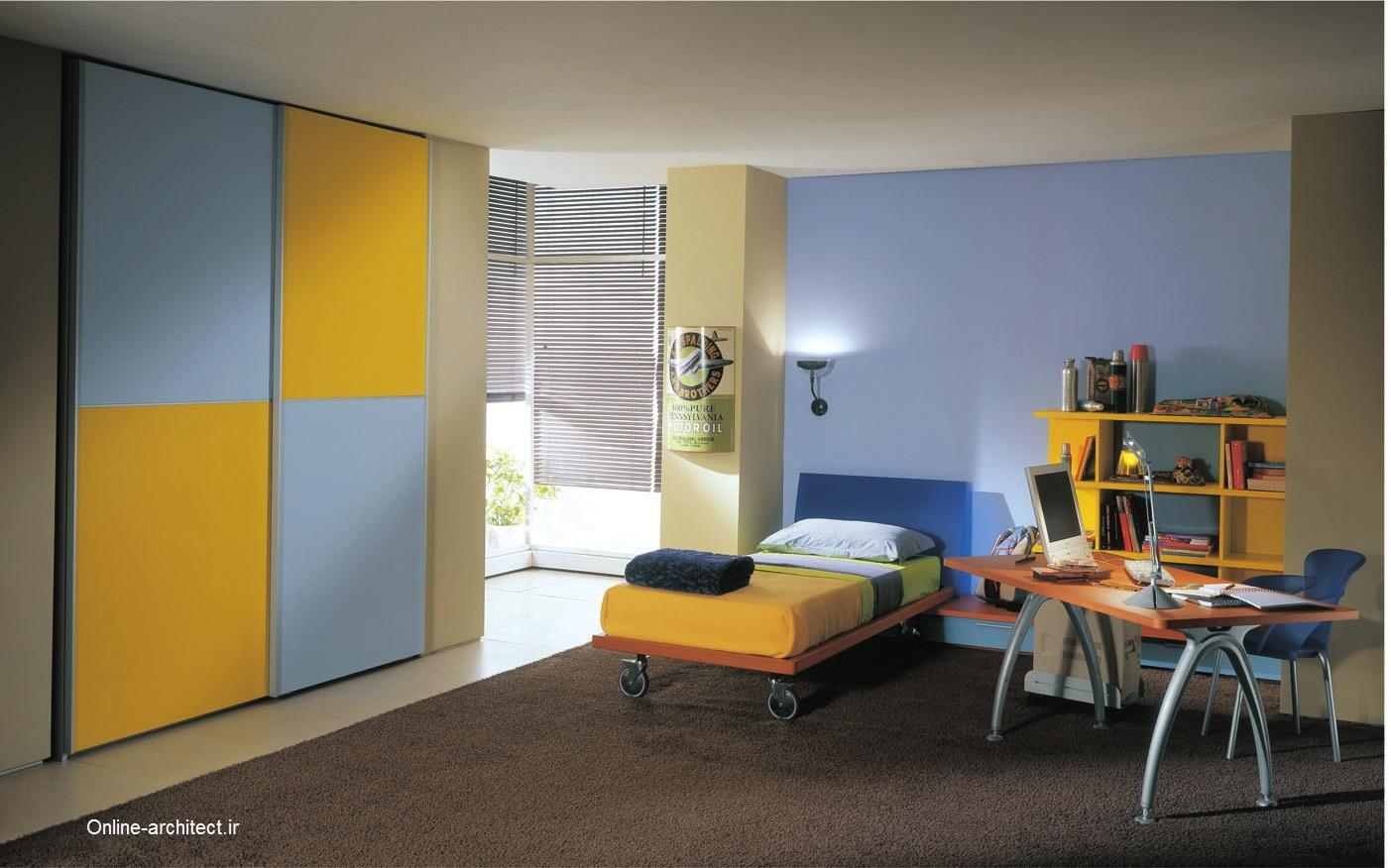 اتاق خواب خودک