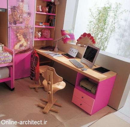 طراحی دکوراسیون های داخلی اتاق خواب کودکان