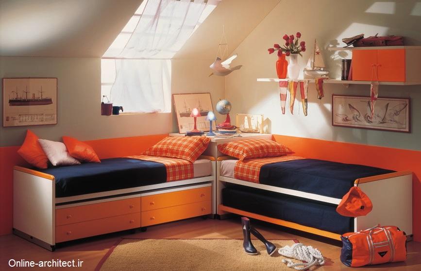 طراحی و دیزاین اتاق کودک