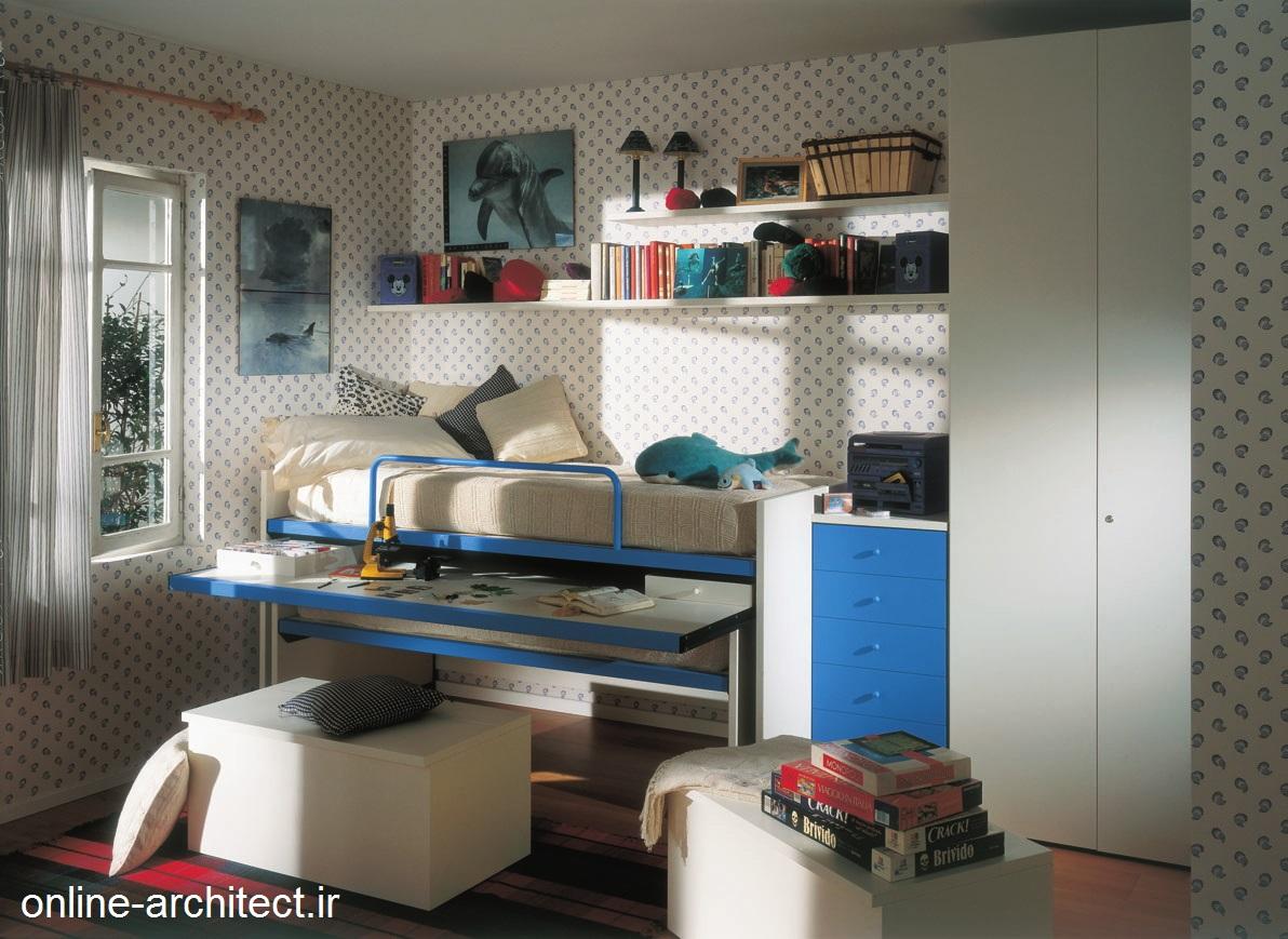 مدل دکوراسیون داخلی اتاق خواب کودکان