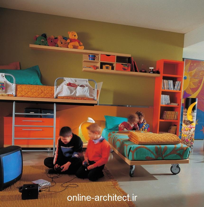 زیباترین مدل دکوراسیون داخلی اتاق خواب کودکان