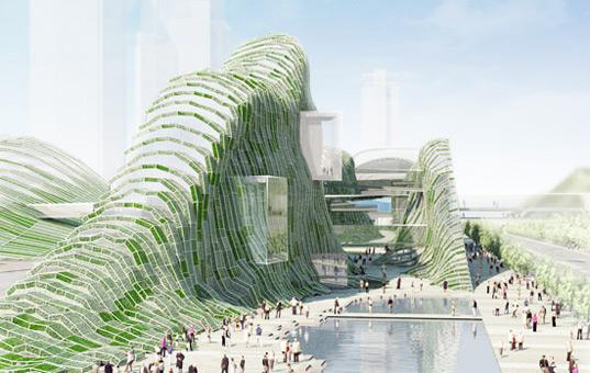 معماری پایدار و سبز