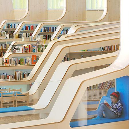 عکس کتابخانه