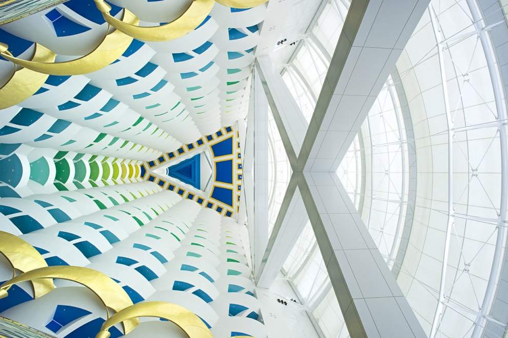 لابی هتل برج العرب