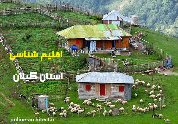 اقلیم شناسی استان گیلان