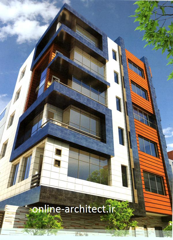 نمای کاپویزیت ساختمان