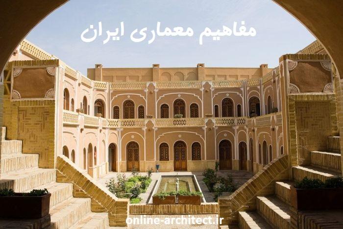 مفاهیم معماری ایران