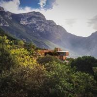 طرح ویلای کوهستانی با نگرش معماری ارگانیک
