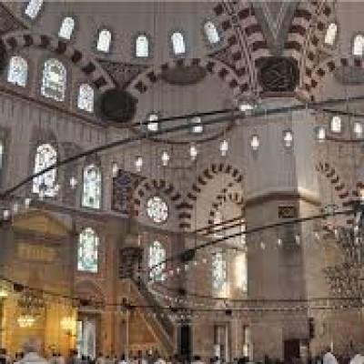 تزئینات مسجد شاهزاده مهمت