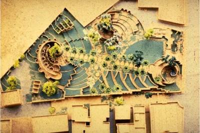 سایت پلان مجموعه فرهنگی کودکان قاهره
