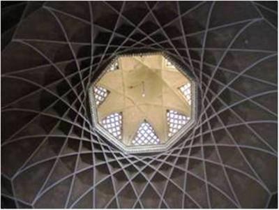 پوشش در معماری ایرانی