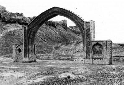 چفد در معماری ایرانی