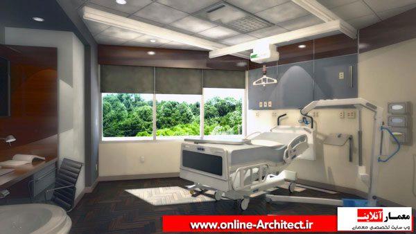 اتاق-بستری vip مرکز بیمارهای خاص