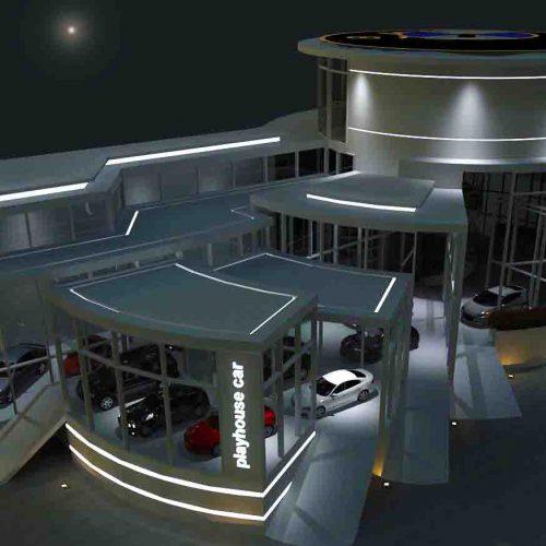 خرید پروژه کامل پایانامه نمایشگاه اتومبیل