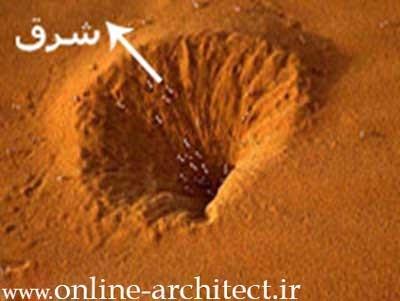ساخت خانه هايي با الگوي مورچه