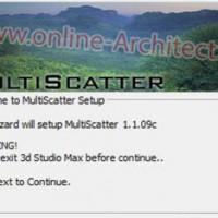 آموزش نصب و کرک پلاگین MultiScatter