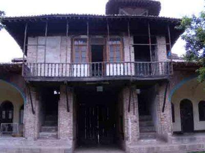 پروژه مرمت مدرسه عمادیه گرگان
