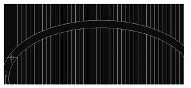 دستور Fence اتوکد