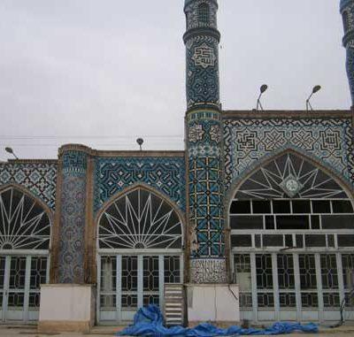 پروژه مرمت مسجد طالب زاده