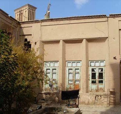 دانلود-پروژه-مرمت-خانه-حظیره-ای-یزد