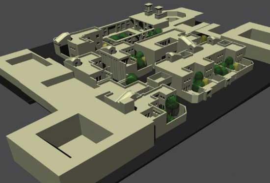 ایده طراحی مسکونی اقلیم گرم خشک