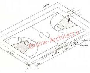 ضوابط و استاندارد های طراحی والیبال و بسکتبال