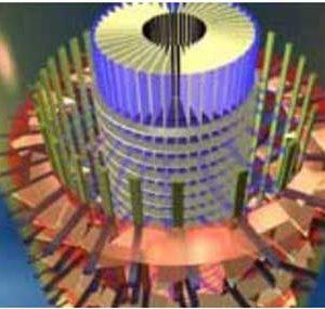 استفاده از فیزیک گياهان آوندی به عنوان سازه ساختمان